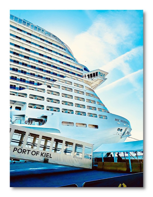 MSC Meraviglia - Kiel - Kreuzfahrt - Pam Lauren Art
