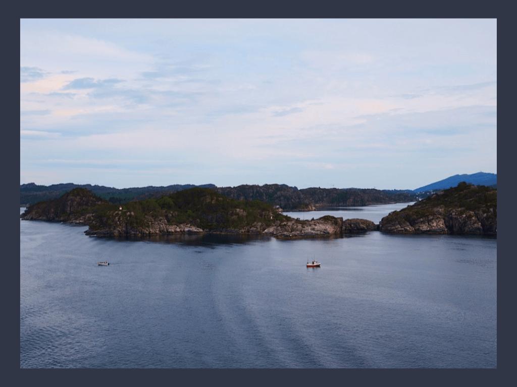 Bergen - Fjorde - Pam Lauren Art