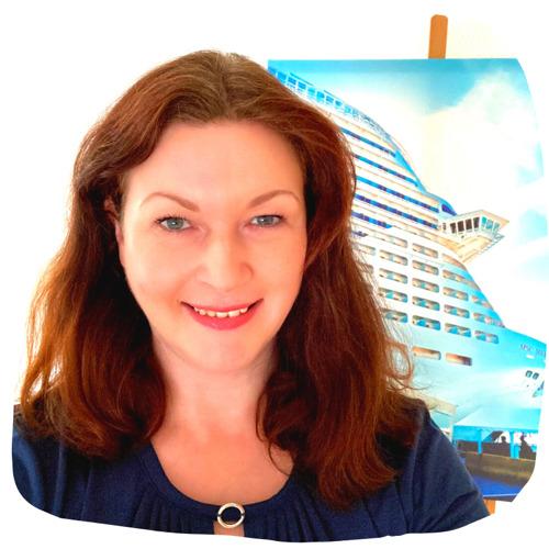 Pam Lauren - Portrait - Kreuzfahrtschiff - Kunstdruck